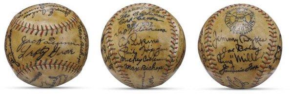 20: 1930 World Champion Philadelphia Athletics Team Sig