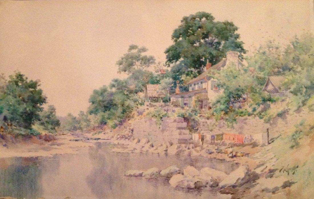 Paul Sawyier (American, 1865-1917), Landscape