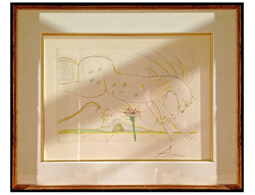"""Salvador Dalí (1904-1989), """"Le Cheval et Le Loup"""""""