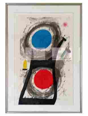 """Joan Miró (Spanish, 1893-1983), """"L'adorateur du Soleil"""""""
