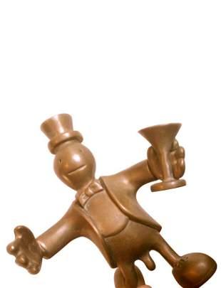 Tom Otterness (American, b. 1952), Bronze Figure
