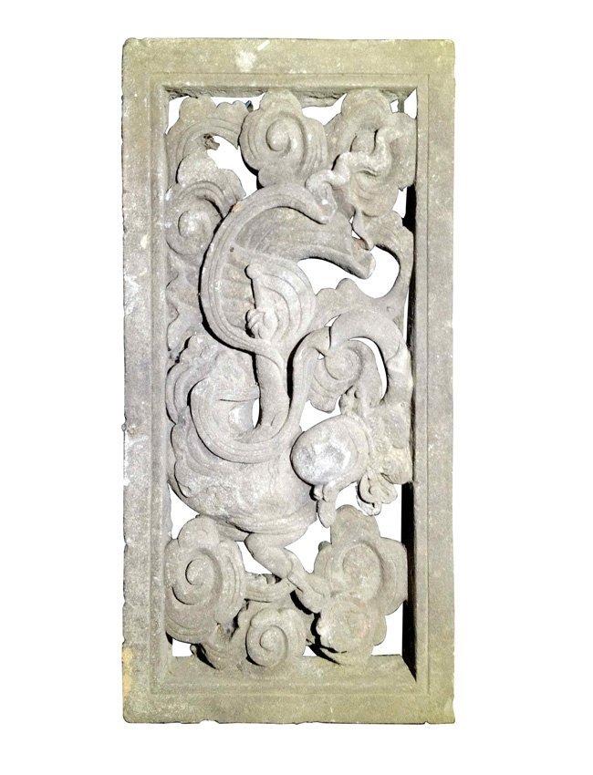 Large Chinese Stone Rectangular Tile