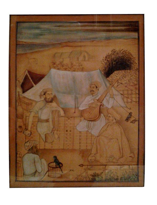 Indian Manuscript Page