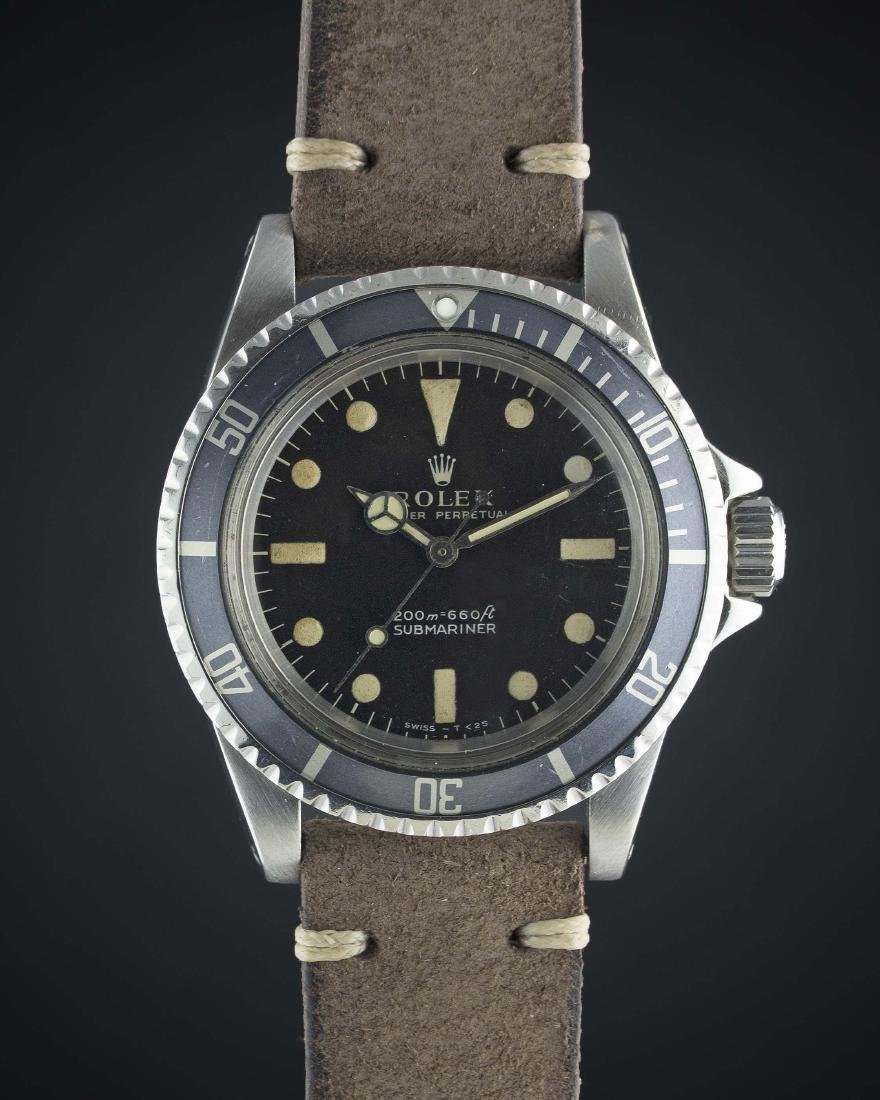 A RARE GENTLEMAN'S STAINLESS STEEL ROLEX OYSTER - 2