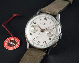 A RARE GENTLEMANS NOS LARGE SIZE STAINLESS STEEL