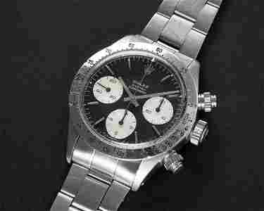 A VERY RARE GENTLEMAN'S STAINLESS STEEL ROLEX OYSTER