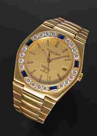 A FINE & RARE GENTLEMAN'S 18K SOLID YELLOW GOLD,