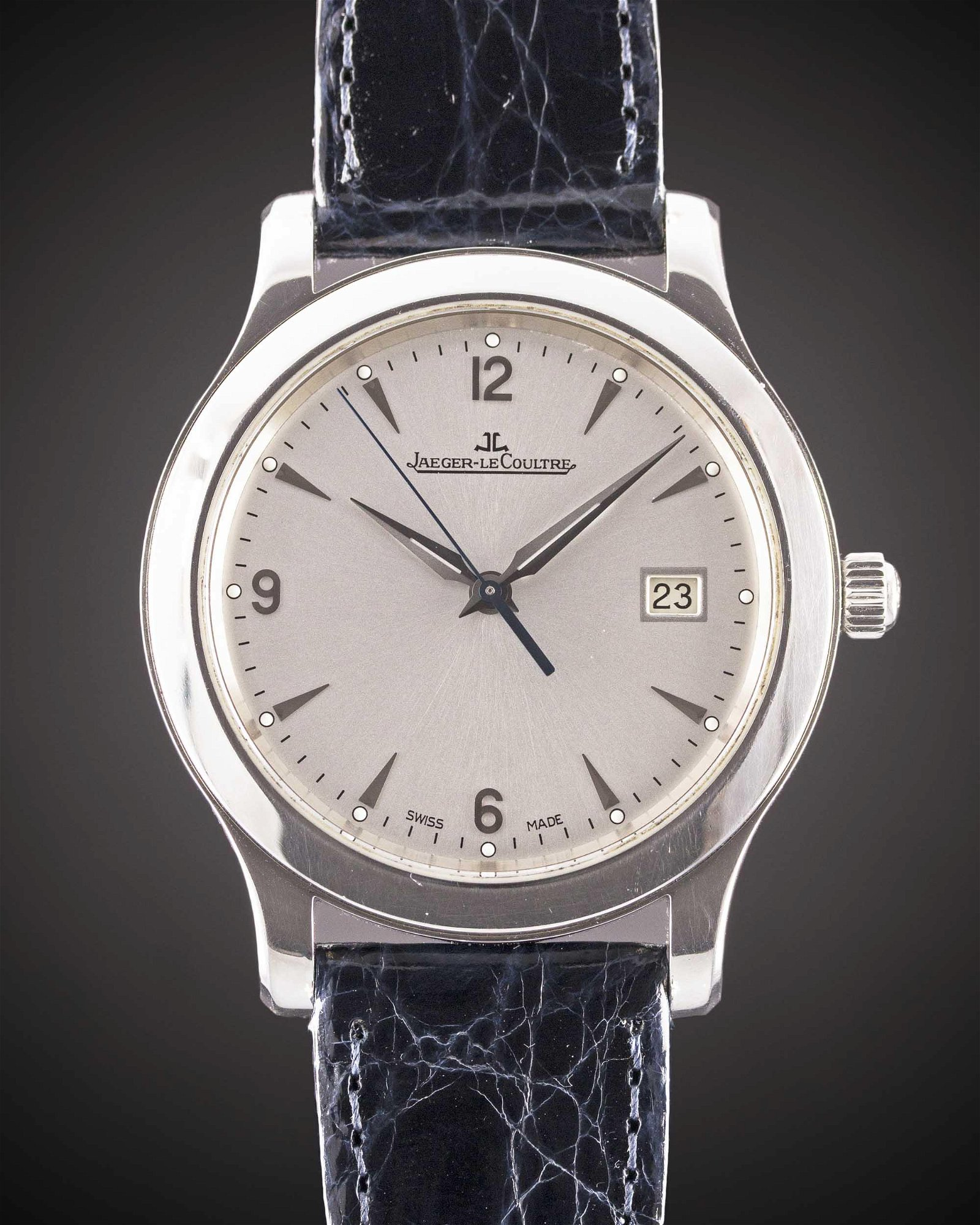 A GENTLEMAN'S LARGE SIZE STAINLESS STEEL JAEGER
