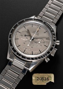 A POSSIBLY UNIQUE GENTLEMAN'S STAINLESS STEEL OMEGA