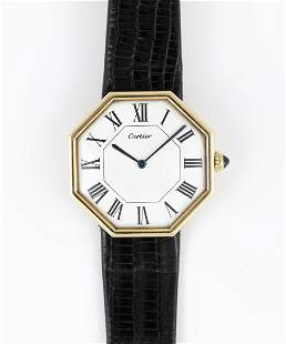A VERY RARE GENTLEMAN'S LARGE SIZE 18K SOLID GOLD