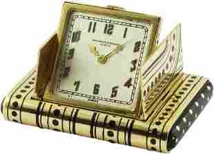 A FINE & RARE 18K SOLID GOLD & ENAMEL VACHERON &