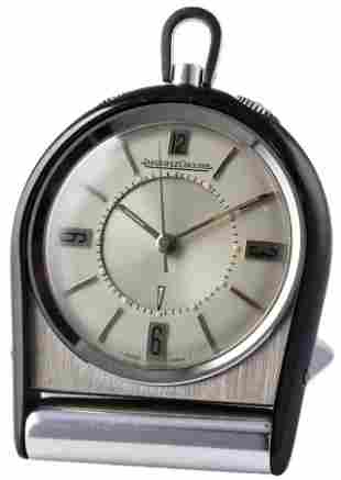 A JAEGER LECOULTRE TRAVEL ALARM CLOCK CIRCA 1960s