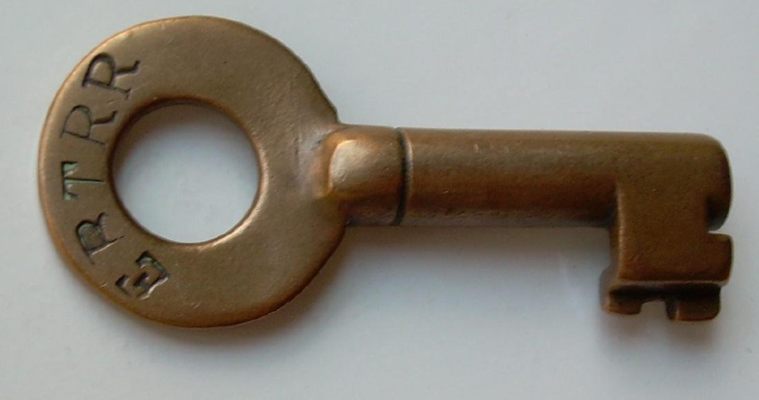 East Broad Top Railroad Brass Switch Key NG