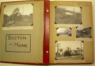 Boston & Maine Photo Scrapbook (310+)