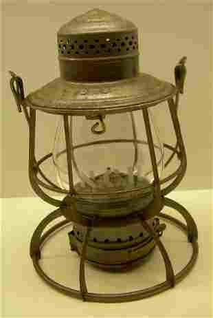 Northern Central Railway Lantern Clear Etched