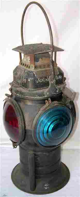 Southern Pacific Company Fork Base Switch Lamp