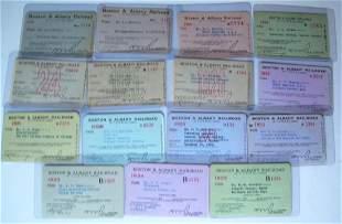 Boston & Albany Annual Passes 1918-1935 (15)