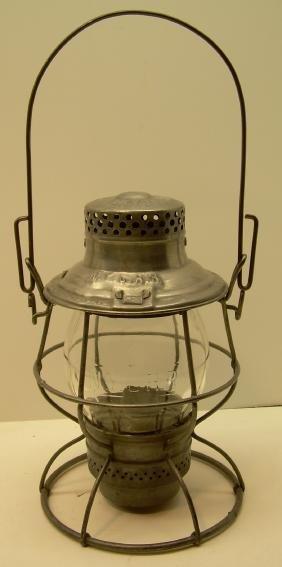New York Central Railroad Lantern Clear Cast