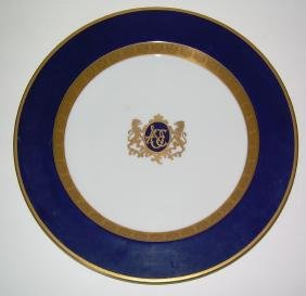 American Orient Express China Service Plate