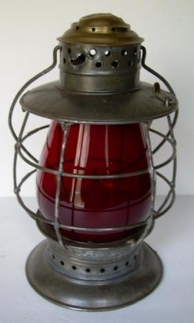Boston & Albany Railroad Porter Brasstop Lantern