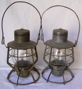 Boston & Maine Railroad Dressel Lanterns Cast