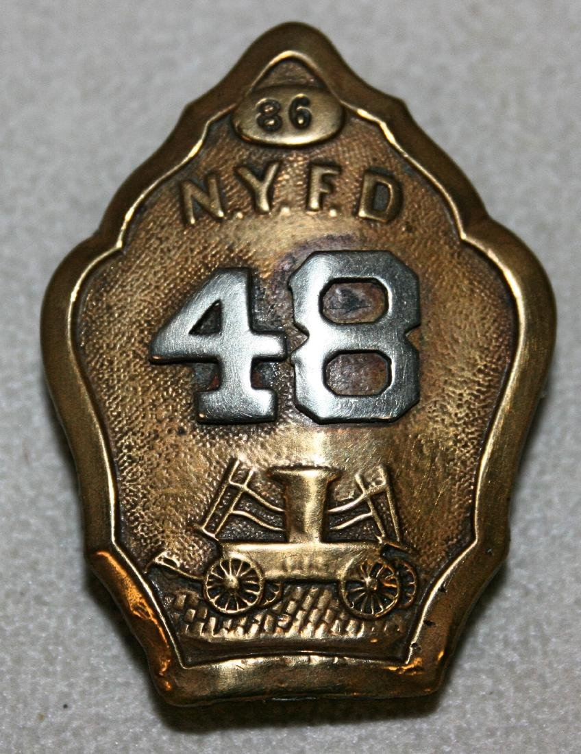 Badge: 86 N.Y.F.F 48
