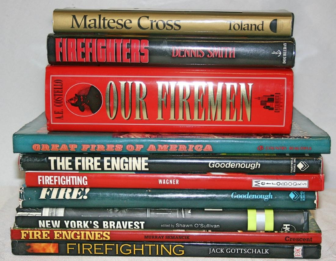10 Hardcover Fire Related Books