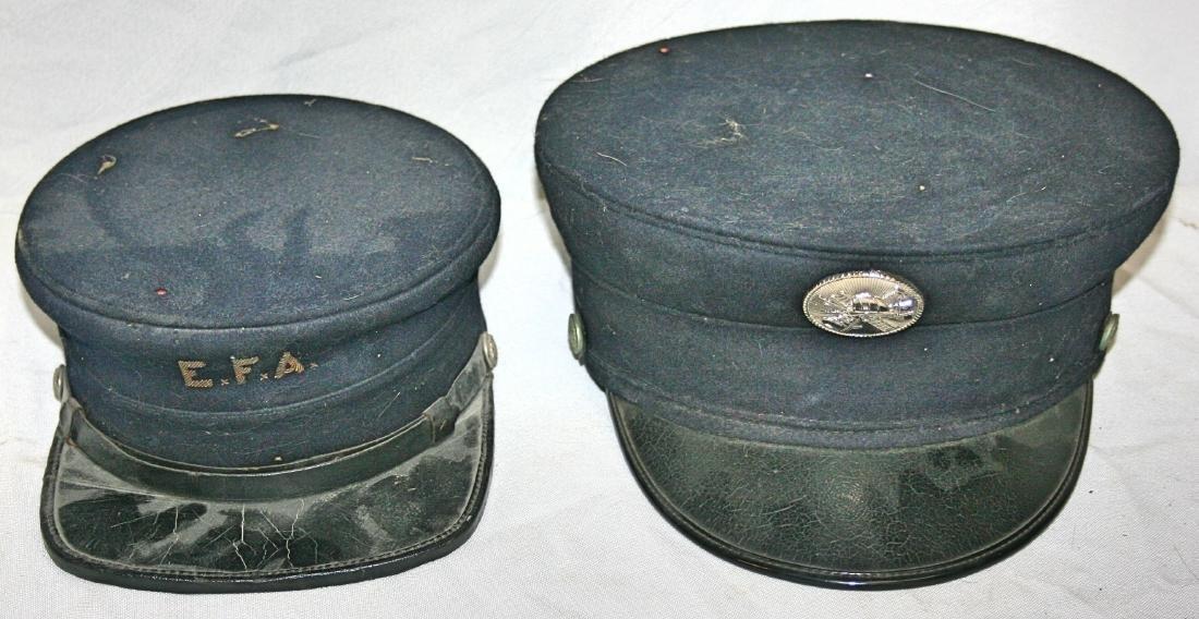 2 Fire Dept Hats (EFA /Badge)