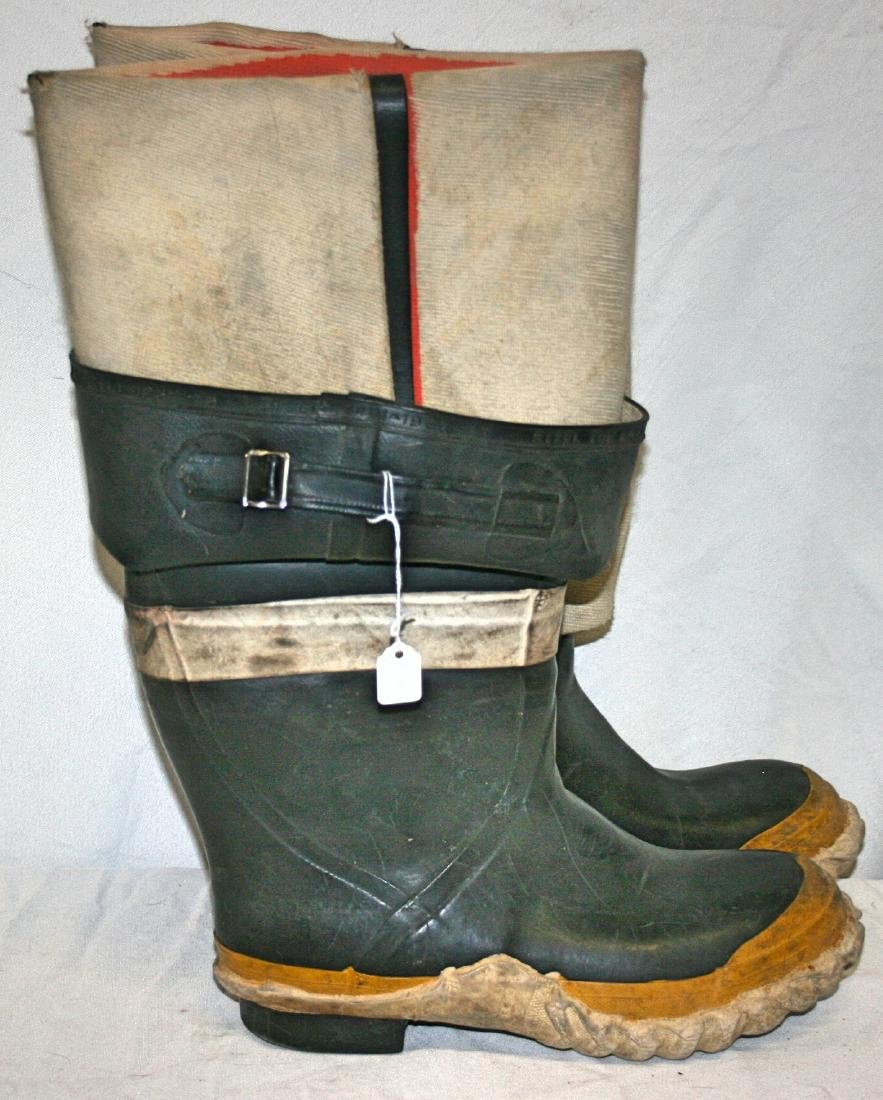 Set Fireman Boots, Servus