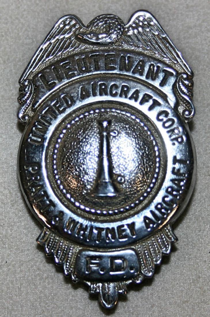 Badge: Lieutenant United Aircraft Corp