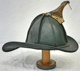 Fire Hat: Leather, No Shield