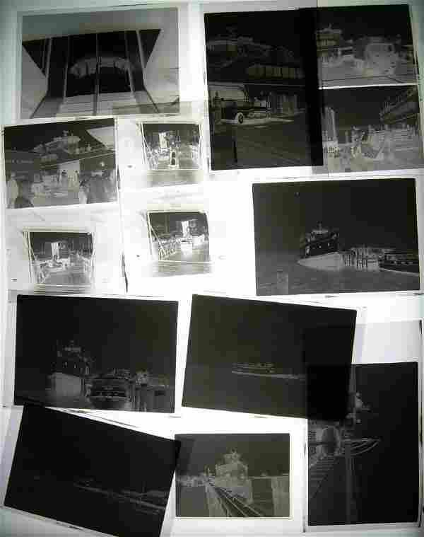 Photo Negatives - Thomas collection - Boats