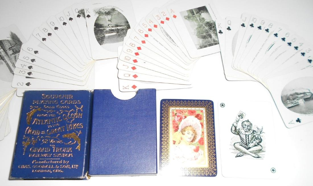 Grand Truck Wide Picture Deck of Playing Cards - 2