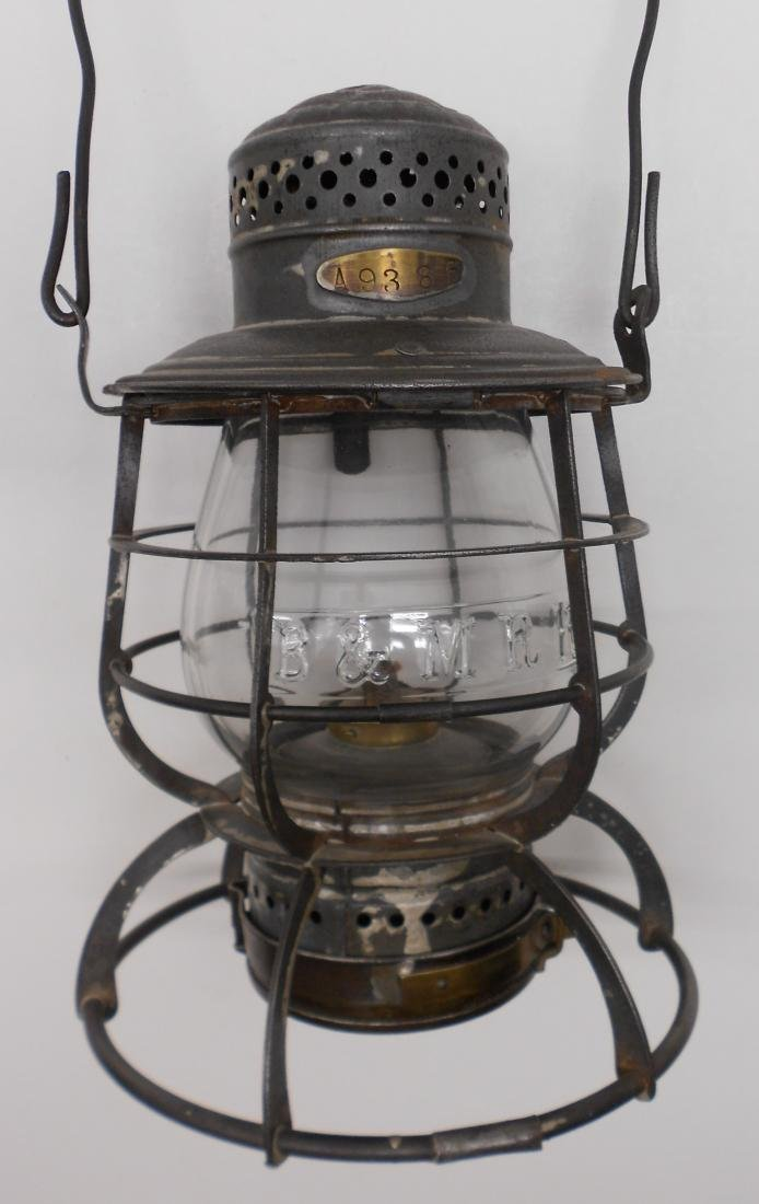 Boston & Maine Armspear Lantern great Globe