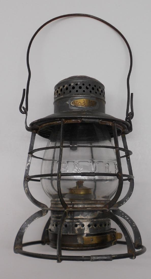 Boston & Maine Armspear Lantern great Globe - 2