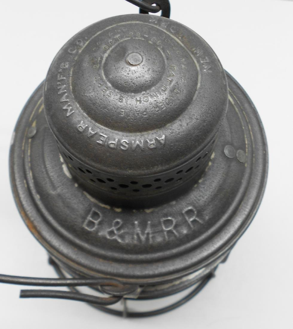 Boston & Maine Armspear Lantern great Globe - 3