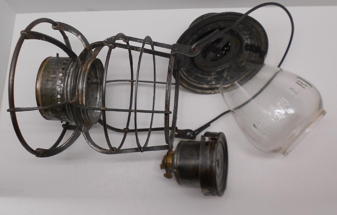 Boston & Maine Armspear Lantern great Globe - 7