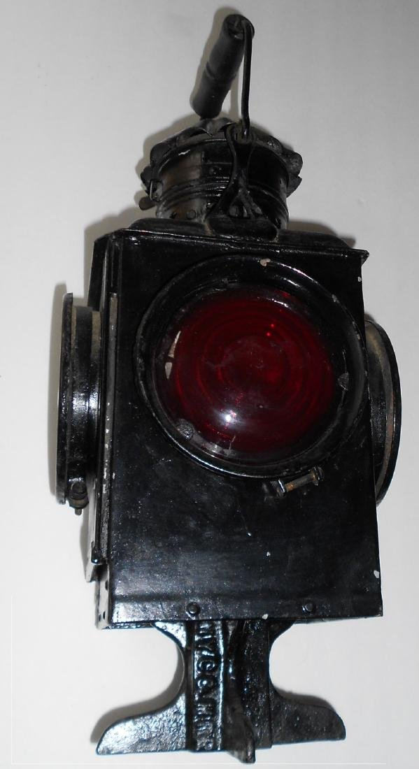 New York Central & Hudson River Railroad Switch Lamp
