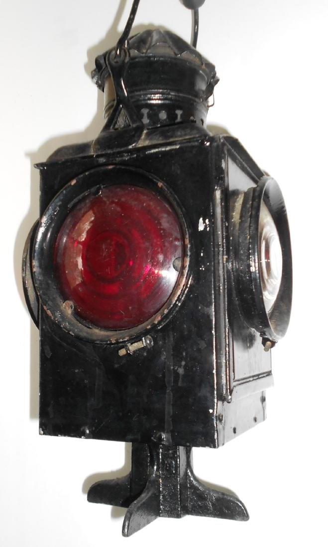 New York Central & Hudson River Railroad Switch Lamp - 5