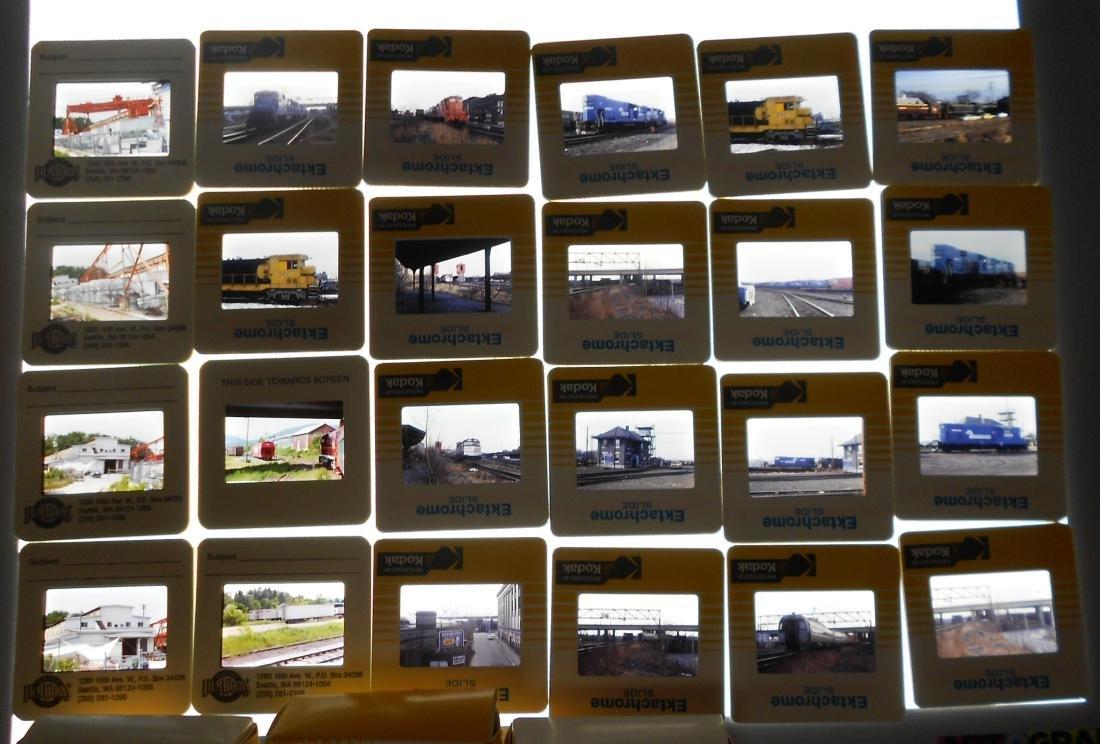 Boxed Train Color Slides (800+) - 3