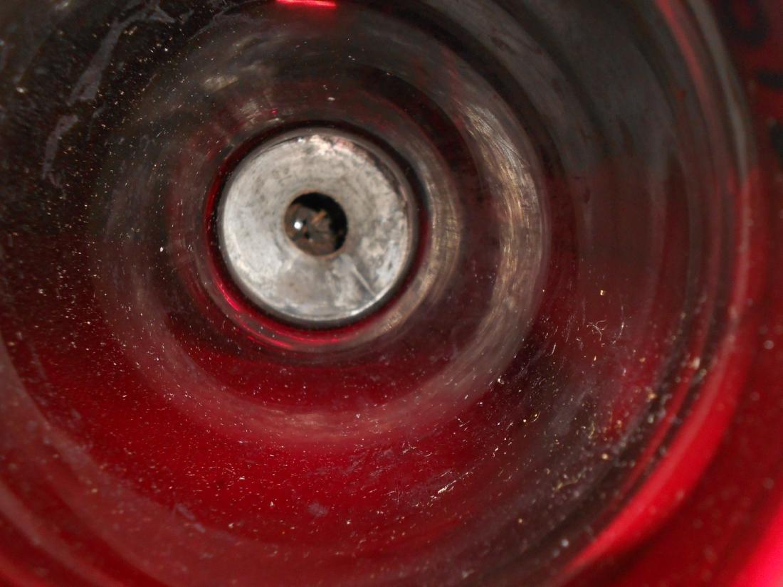 Concord Railroad Fixed Globe Lantern Red Globe - 8