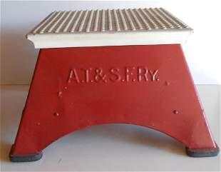 "Santa Fe Full Size Step Box ""AT&SF Ry"""