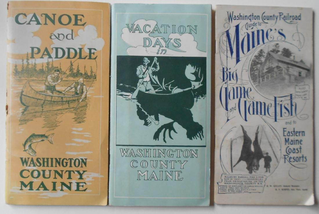 3 Washington County Hunting & Fishing Guide Booklets