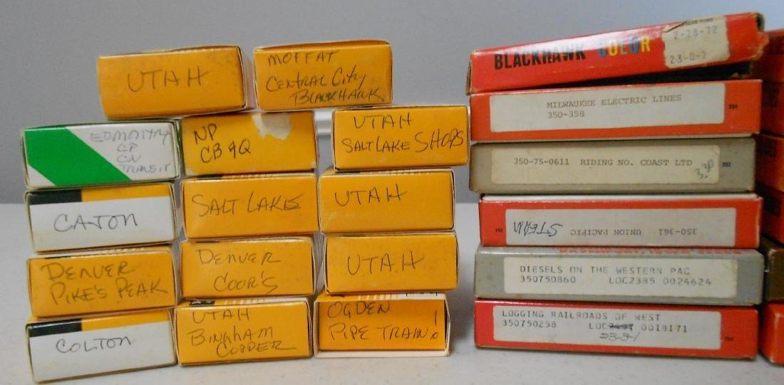Boxed Train Color Slides West (800+) - 2