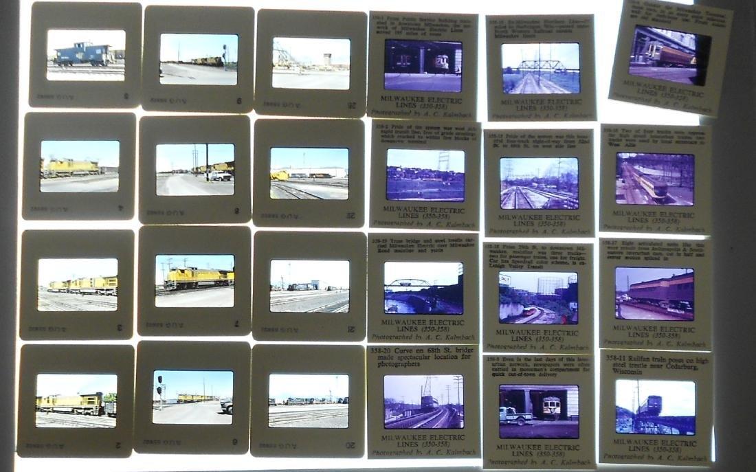 Boxed Train Color Slides West (800+) - 3