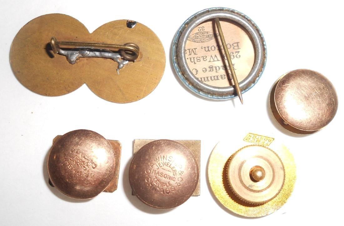 6 Pins:: Nat Express, Am Express, B&M, PRR - 2