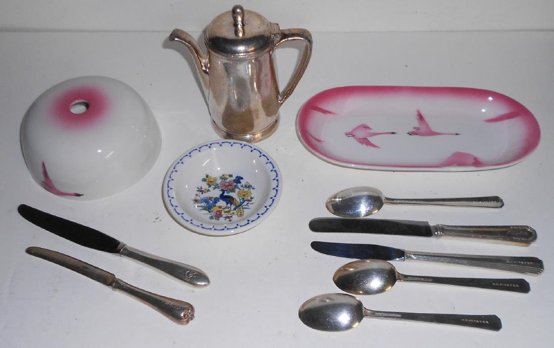 Milwaukee Road, GN, C&NW Dining Car Items