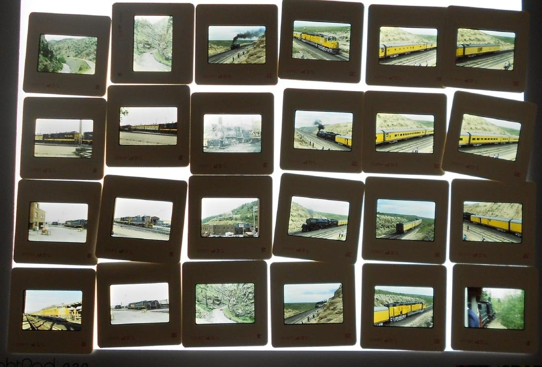 Boxed Train Color Slides West (1000+) - 2