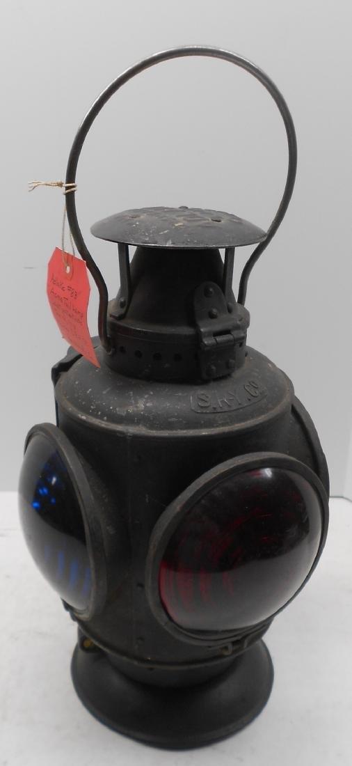 Schenectady Railway Trolley Marker Lamp