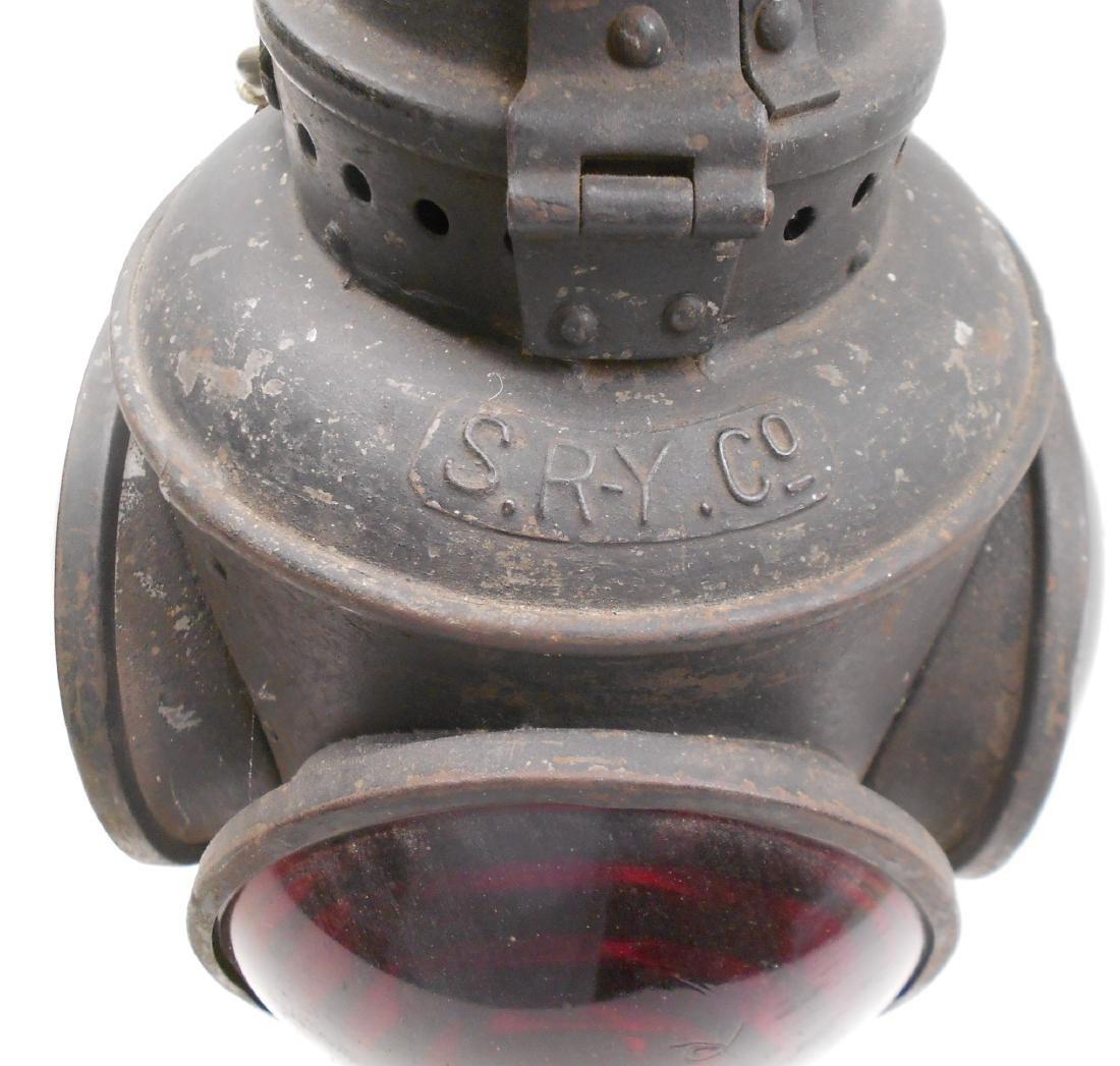 Schenectady Railway Trolley Marker Lamp - 3